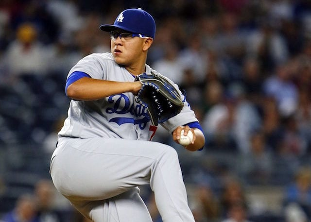 Dodgers Video: Julio Urias Throws For First Time Since ...