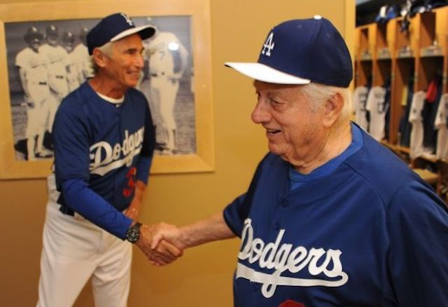 This Day In Dodgers History Sandy Koufax Added To Roster Tommy Lasorda Optioned Don Drysdale Breaks Record For Consecutive Scoreless Innings Dodger Blue
